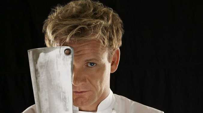 Celebrity chef Gordon Ramsay... rivals knives out?